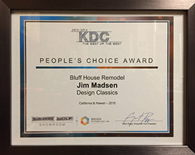 KDC Peoples Choice Award